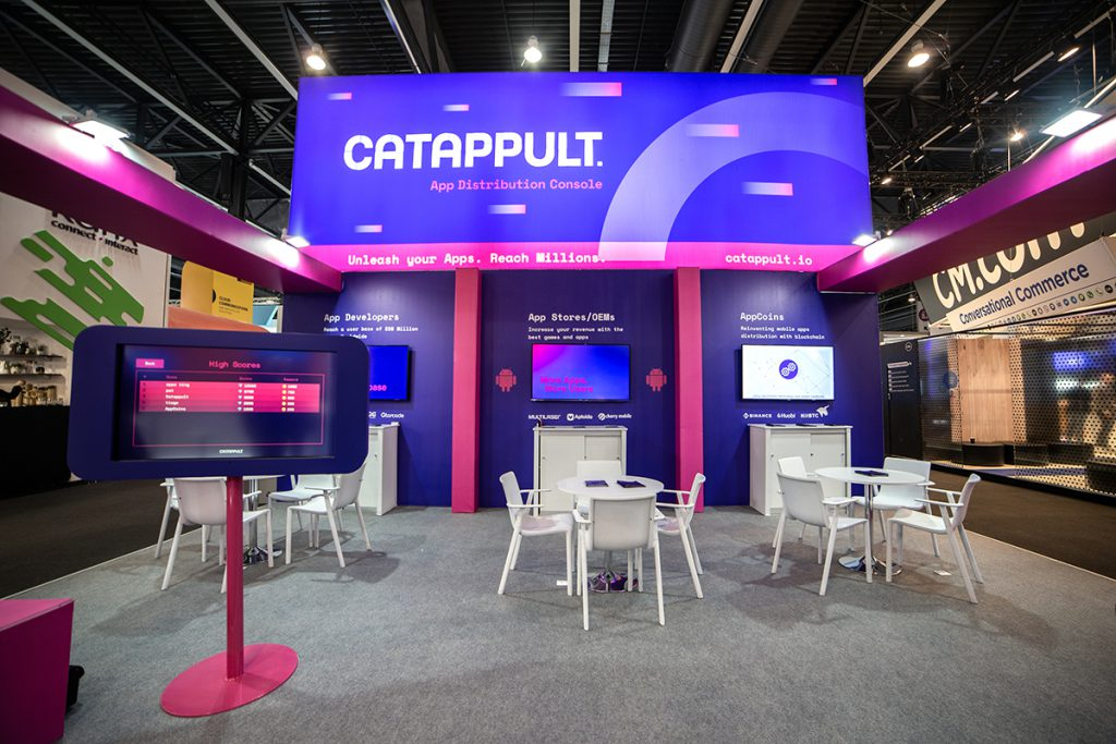 stand CATAPPULT MWC Dextail