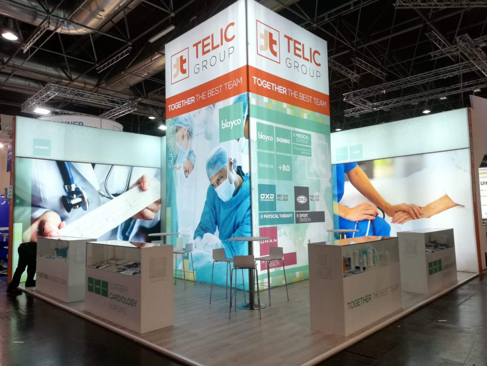 stand blayco telic medica dextail