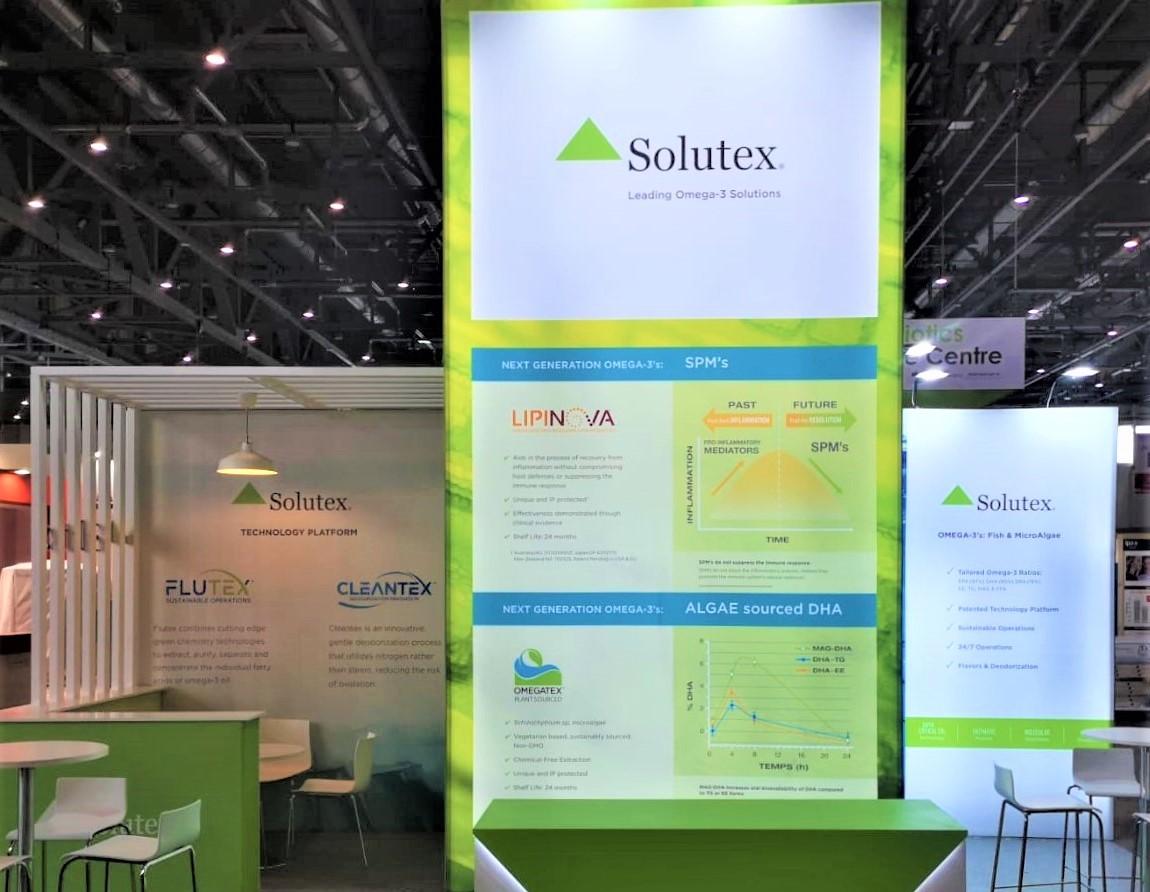 Diseño Stands Publiverd Vitafoods - Solutex